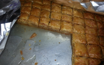 Turkish Food Homemade Baklava